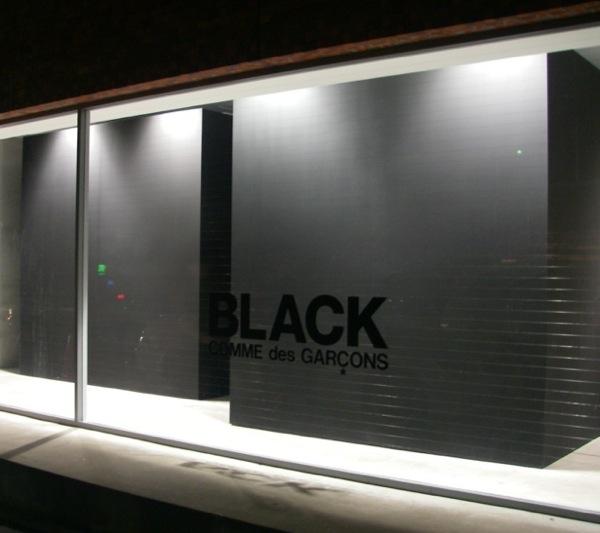 Comme Des Garcons Black Tokyo