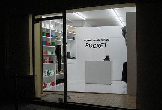 Comme des Garçons Pocket Store Paris