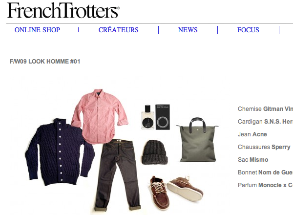 French Trotters Webshop - Boutique en ligne