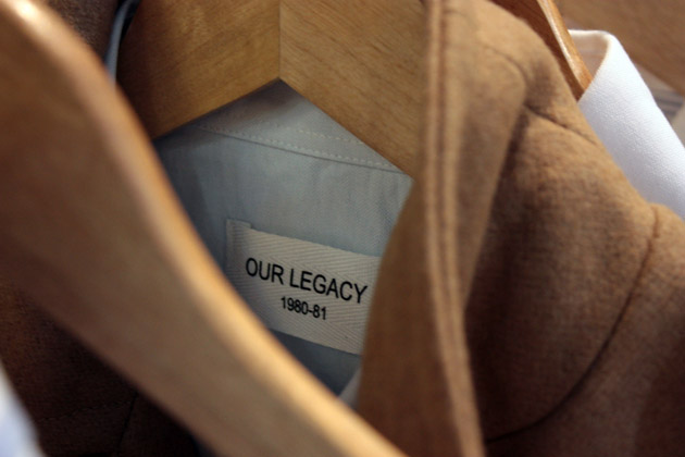 Our Legacy F/W 2009