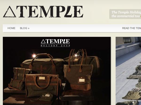 Temble Bags - Online Store