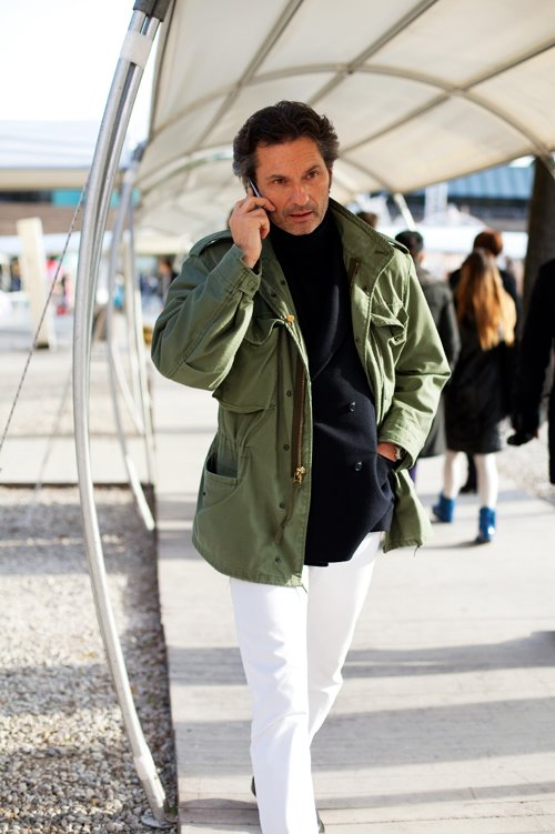 M65 - Photo par Scott Schuman (thesartorialist.blogspot.com)