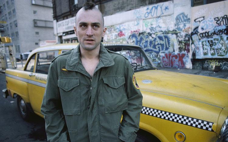 Robert de Niro en M65 - Taxi Driver