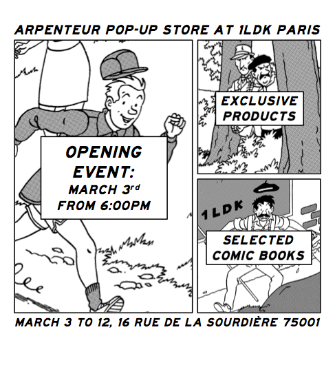 Arpenteur - Pop-up Store 1ldk
